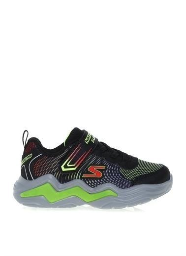 Skechers Skechers Siyah - Yeşil Yürüyüş Ayakkabısı Siyah